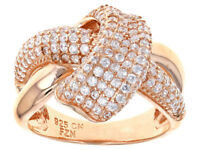 Size 6 - Bella Luce 1.89ctw Rose Gold Over Sterling Ring