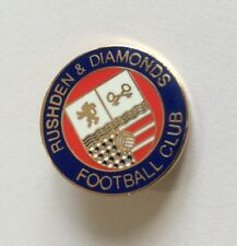 RUSHDEN & DIAMONDS Football Club Badge FC Enamel Supporters NON LEAGUE Pin 1