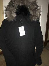 NWT American Eagle Mens Expedition Parka Black Heavy Coat Jacket - XL