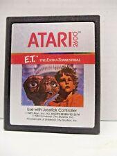 E.T. The Extra-Terrestrial (Atari 2600, 1982) Game