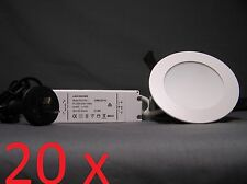 20 x CLA 10W LED Chameleon Downlight Dimmable Tuneable 3000K/4000K/5000K