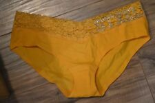 Victoria's Secret panty love pink pittsburgh steelers M bling