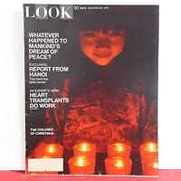 Children of Christmas Look Magazine Hanoi Dream of Peace December 29 1970 RARE!