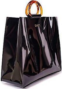 New Designer Plastic purses and handbags, Vynyl Clear Transparent Bag  Acrylic