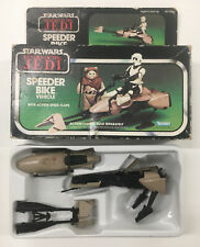 More details for vintage star wars speeder bike return of the jedi kenner 1983 taiwan with box