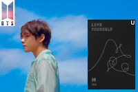 BANGTAN BOYS LOVE YOURSELF Tear BTS 3rd [U Ver] Album CD+Photocard+Standing Card