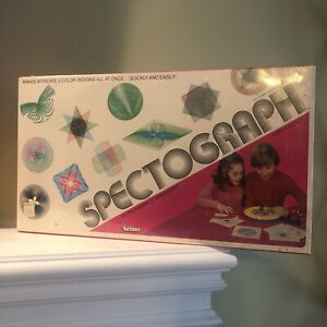 Vintage Kenner SPECTOGRAPH Educational Design Drawing Toy Spirograph 1979 NEW
