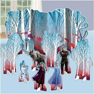 Frozen 2 Birthday Forest, Table Decoration Kit, 9 Ct Party Supplies Centerpiece