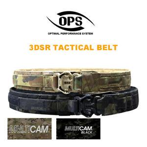 OPS 3DSR Tactical Belt Multicam Black