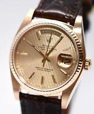 Rolex Day Date Gold Herren Uhr Ref.18038 Papiere von 1984 Revision Karte