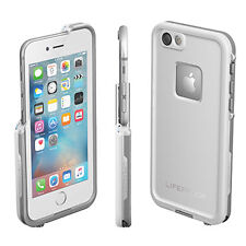 Genuine LifeProof iPhone 6 6s Plus Fre Frē Water Drop Proof Tough Cover Case Avalanche White