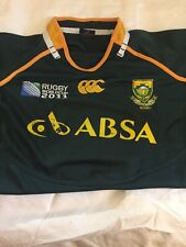 South Africa Canterbury 2001 Rugby World Cup Jersey Size XL