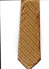 Enrejado pattn corbata oscuro Fawn Blanco Naranja Nuevo Tie ALTHRUPP & cáscara de Londres