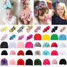 12 Style Baby Girl Flower Bow Hair Band Turban Knot Rabbit Headband Headwrap Lot