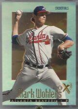 1997 SkyBox E-X2000 CREDENTIALS #60, Mark Wohlers, Atlanta Braves.  SN 279/299