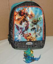 Skylanders Giants Carry Case Mini Sling Bag W/ Snap Shot Fig (Holds 12 Figures)