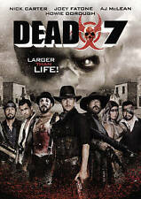 """Dead 7 (DVD, 2016), """"The Young Guns Meets the Walking Dead."""" Horror, VERY GOOD!!"""