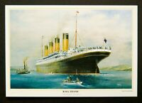 R.M.S Titanic Queenstown A2 Print by Colin Verity