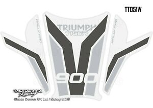 Triumph Tiger 900 Rally Pro 2020 2021 Motorcycle Tank Pad Paint Protector