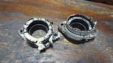 1980 YAMAHA XS650 SG XS 650 YM285 ENGINE CARBURETOR INTAKE MANIFOLD SET