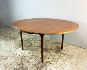 1970's mid century extending dining table by A.H. Mcintosh