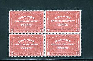 Canada E5 VF og NH block, CV $460