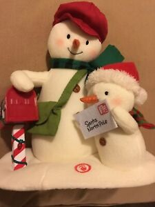Special Delivery Techno Plush Singing Snowmen 2018 Hallmark