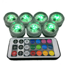Waterproof LED Rechargeable Battery remote control for colorful Light 1pcs