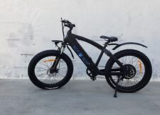 SCA Electric Fat Tire Bicycle 40 Miles Range 1000Watt Brushless Hub Motor