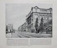 1896 London Aufdruck Mit Beschreibende Text Ausstellung Road Wissenschaft &