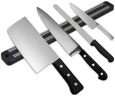 Magnetic Wall Kitchen Knife Bar Holder Utensil Rack Heavy Duty Chef Tool 33 CM