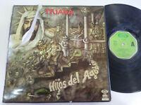 """TRIANA HIJOS DEL AGOBIO 1977 MOVIEPLAY GONG LP VINILO VINYL 12"""" G-/G+"""