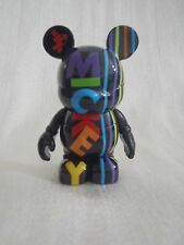 """Disney Vinylmation Oh Mickey Mouse Series - Black Name Letters Colors 3"""" Figure"""