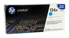 GENUINE HP 124A TONER Q6001A CARTRIDGE 1600 2600 CYAN