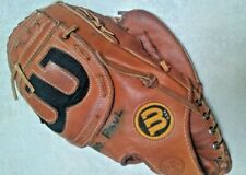 Origianal Vintage Wilson A2004 Leather Glove Made In The USA Professional Model