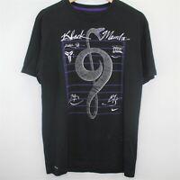 Nike Mens Medium Kobe Bryant Black Mamba Spell Out Dri-Fit T-Shirt S274