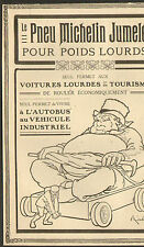63 CLERMONT-FERRAND PNEUS POIDS LOURDS MICHELIN PUBLICITE 1910