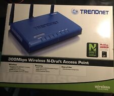 Trendnet wireless-n access point TEW-630APB with AC adapter