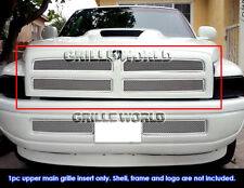 For 1994-2001 Dodge Ram Pickup Stainless Steel Mesh Grille Grill Insert