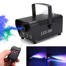 Beamz S-500 Smoke Machine Fog Effect with Fluid & Remote Control DJ Disco Party