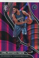2017-18 TOTALLY CERTIFIED PURPLE PARALLELS KARL-ANTHONY TOWNS TIMBERWOLVES G998