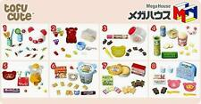 Re-ment size MEGAHOUSE Panda's Candy Sweet Snacks  Full set  of 8