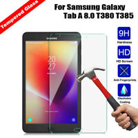 Tempered Glass Screen Protector For Samsung Galaxy Tab A 8.0 T380 T385 2017 New