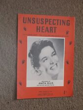 Anita Ellis Unsuspecting Heart Sheet Music.
