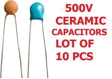 10 pcs de 3,3 nF 500V condensateurs céramique 5mm de composants électroniques