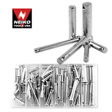 Neiko 60 Pcs Clevis Pin Assortment