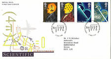 5 MARCH 1991 SCIENTIFIC ACHIEVEMENT ROYAL MAIL FIRST DAY COVER KENSINGTON SHS
