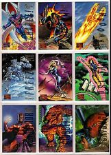 1995 Marvel Masterpieces Parallel Signature EMOTION cards - Singles