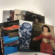 Lot of 10 Metropolitan Museum of Art collection Books years 1971-2018
