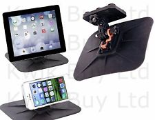 In Car Grip Dashboard Mount Holder Phone Tablet iPad Camera SAT Nav GPS Dash New